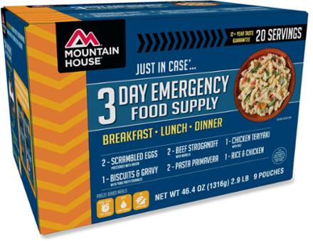 Mountain House Just In Case 3-Day Kit