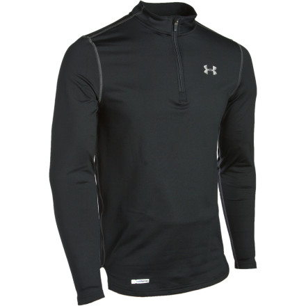 photo: Under Armour Fitted ColdGear 1/4 Zip base layer top