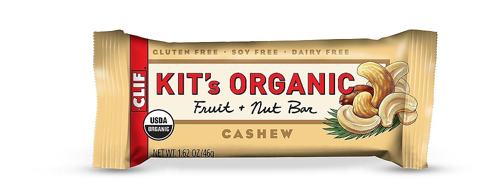 photo: Clif Kit's Organic Fruit & Nut nutrition bar