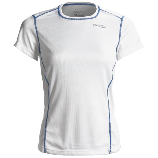 photo: Saucony Empress Shirt short sleeve performance top