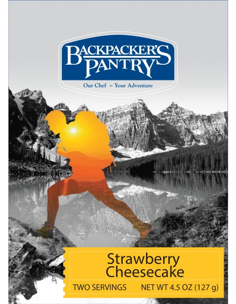 photo: Backpacker's Pantry Strawberry Cheesecake dessert