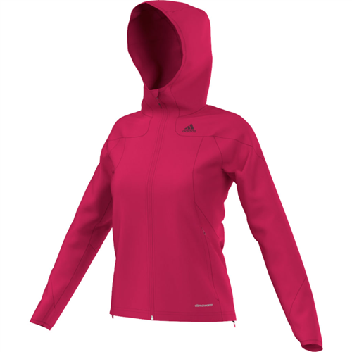 photo: Adidas Women's Hiking 1 Side Hooded Jacket fleece jacket