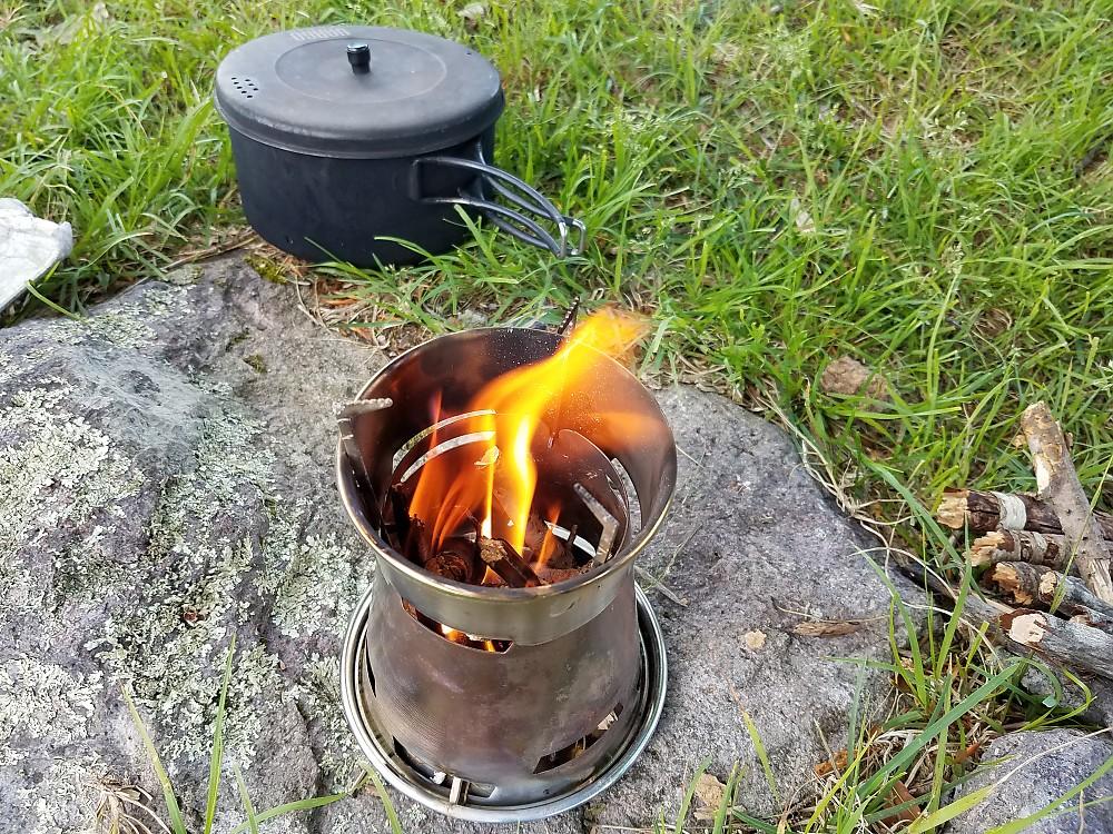 photo: Patagonia Wood Burning Stove wood stove