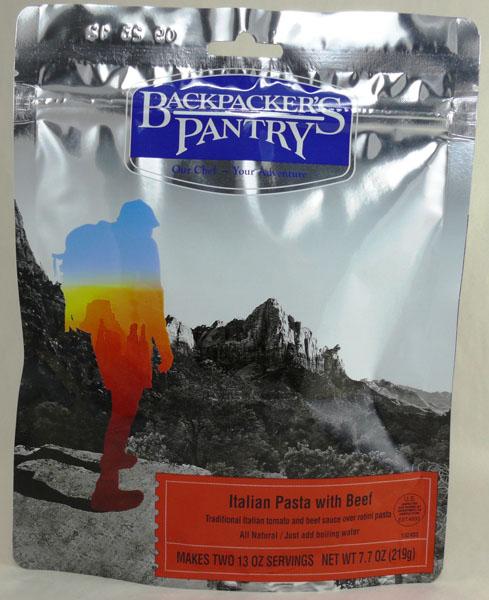Backpacker's Pantry Italian Pasta with Beef