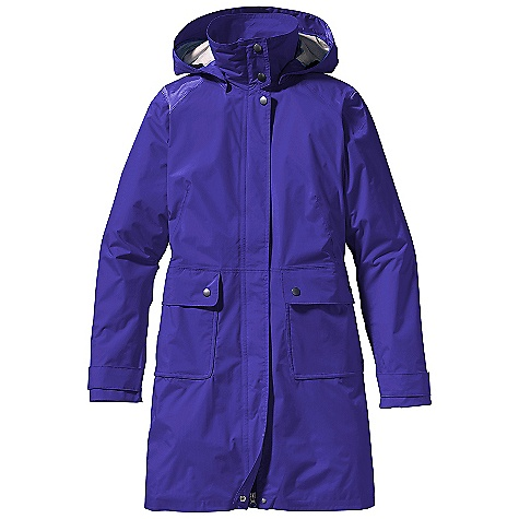 Patagonia Torrentshell Trench Coat
