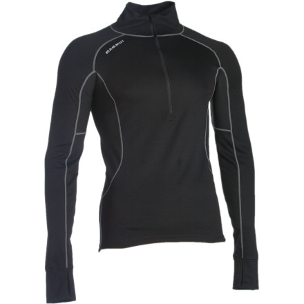 photo: Mammut Warm Quality Zip Longsleeve base layer top