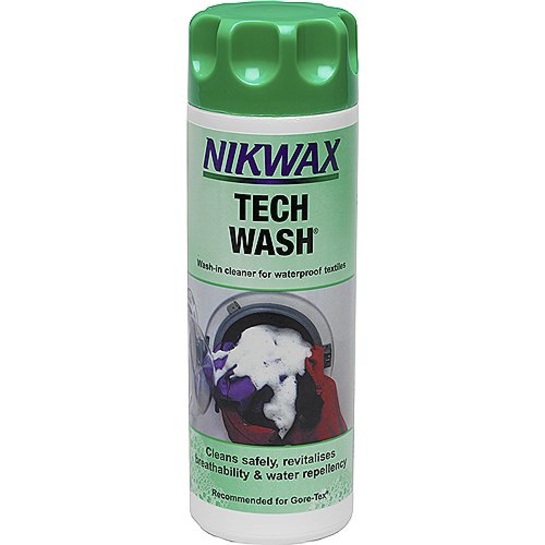 photo: Nikwax Tech Wash fabric cleaner/treatment