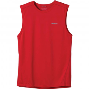 photo: Patagonia Fore Runner Sleeveless short sleeve performance top