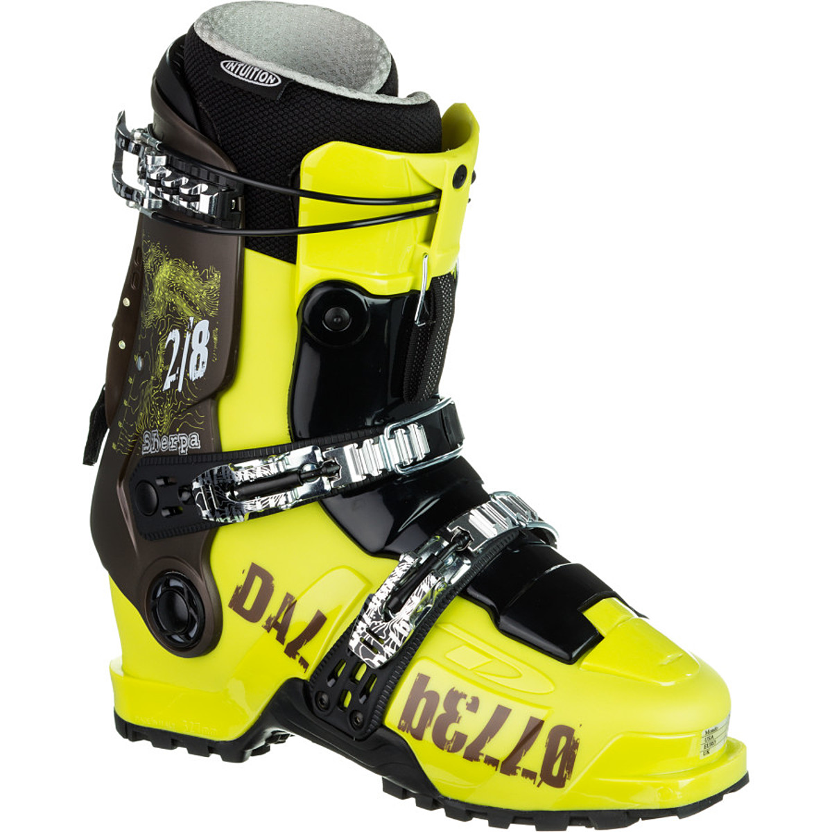 photo of a Dalbello alpine touring boot