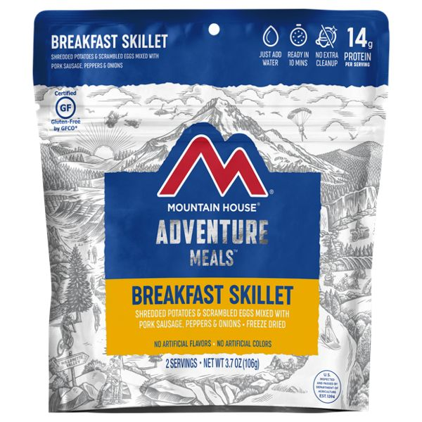 Mountain House Breakfast Skillet Wraps