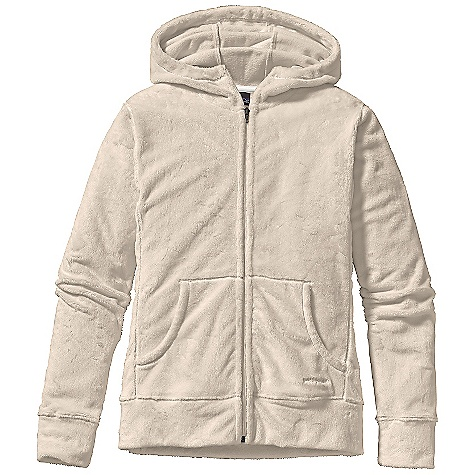 photo: Patagonia Girls' Plush Synchilla Hoody fleece top