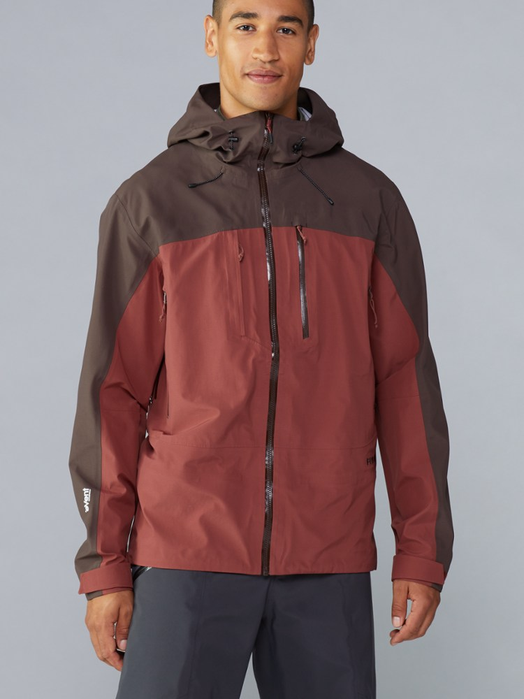 photo: Flylow Gear Lab Coat waterproof jacket