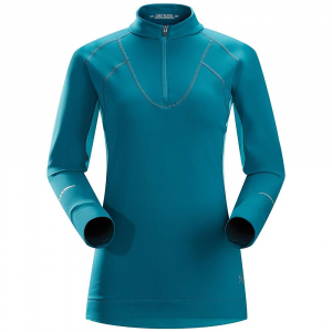 photo: Arc'teryx Women's Cyclic Zip Neck long sleeve performance top