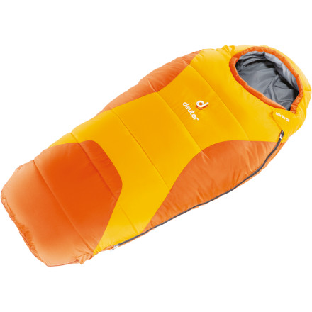 photo: Deuter Little Star EXP warm weather synthetic sleeping bag