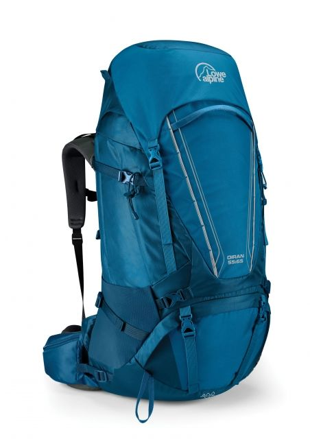 photo: Lowe Alpine Diran 55:65 weekend pack (50-69l)