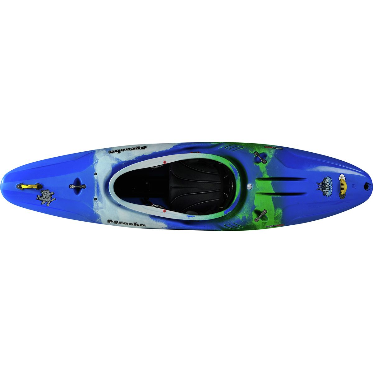 photo: Pyranha Shiva whitewater kayak