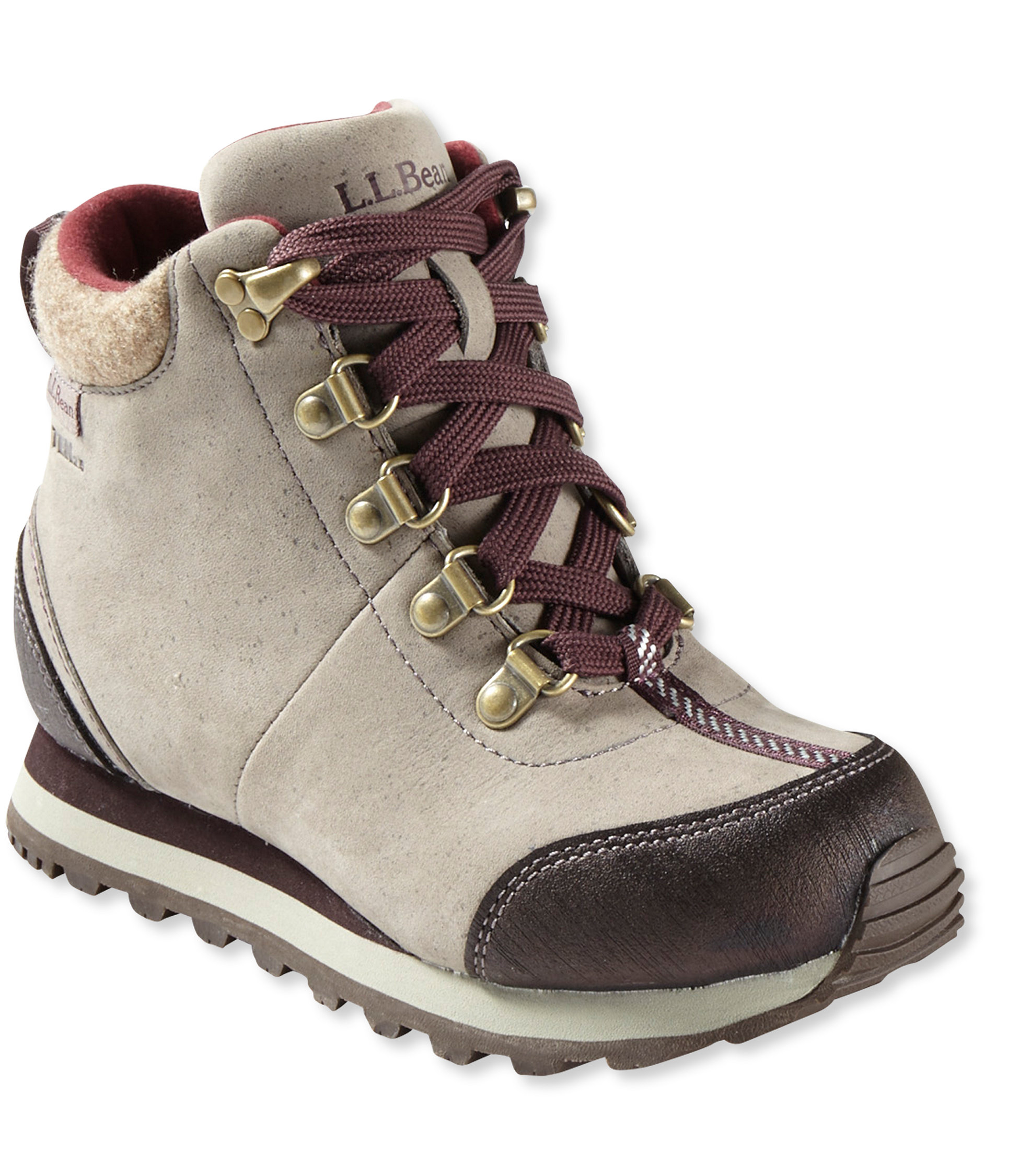 photo: L.L.Bean Kids' Waterproof Snow Sneakers winter boot