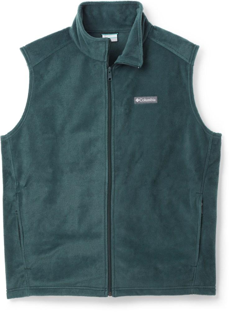 photo: Columbia Steens Mountain Fleece Vest fleece vest