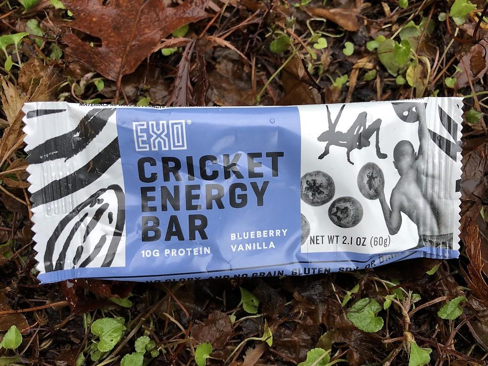 photo: Exo Cricket Energy Bar nutrition bar