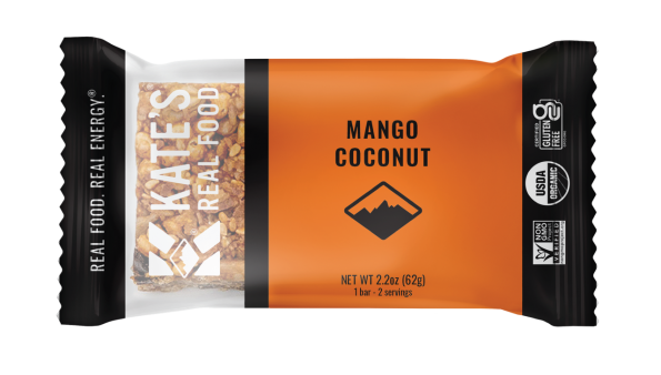 Kate's Real Food Mango Coconut Tiki Bar