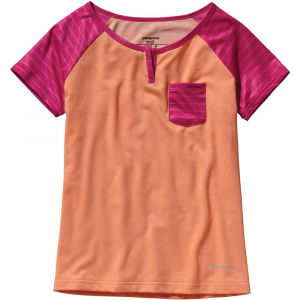 photo: Patagonia Kids' Capilene 1 Silkweight T-Shirt base layer top