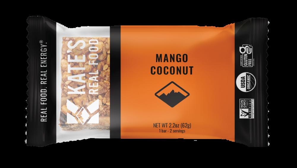 photo: Kate's Real Food Mango Coconut Tiki Bar nutrition bar