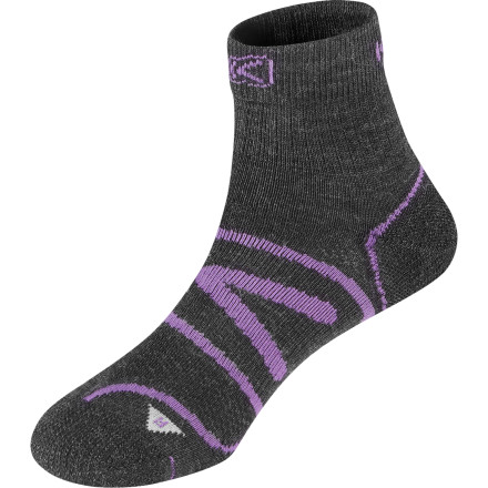 photo: Keen Zip Hyperlite 1/4 Crew running sock