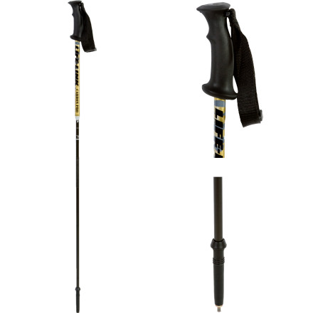 photo: Life-Link Carbon Pro alpine touring/telemark pole