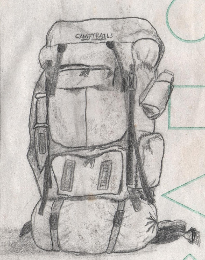 photo: Camp Trails Omega Outfitter external frame backpack