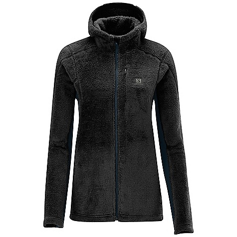 photo: Salomon High Pile FZ Hooded Midlayer fleece jacket