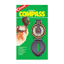 photo: Coghlan's Lensatic Compass handheld compass