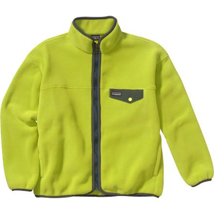 photo: Patagonia Boys' Synchilla Snap-Zip Jacket fleece jacket