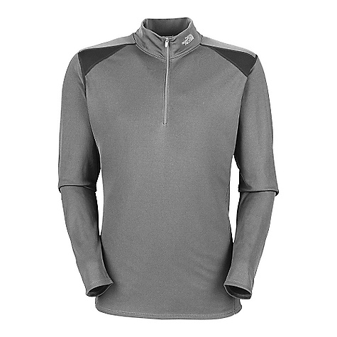 photo: The North Face Men's XTC Midweight 1/4 Zip base layer top