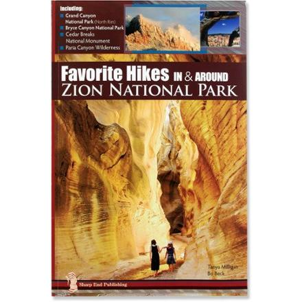 Guidebook reviews trailspace sharp end publishing favorite hikes in around zion national park fandeluxe