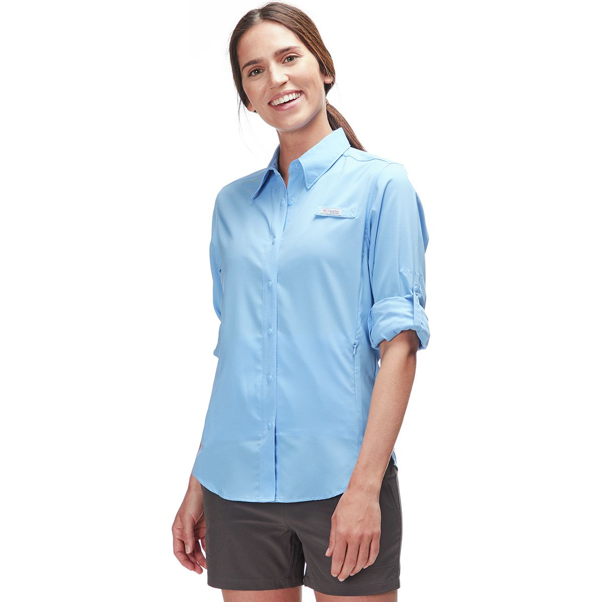 photo: Columbia Women's Tamiami II Long Sleeve Shirt hiking shirt