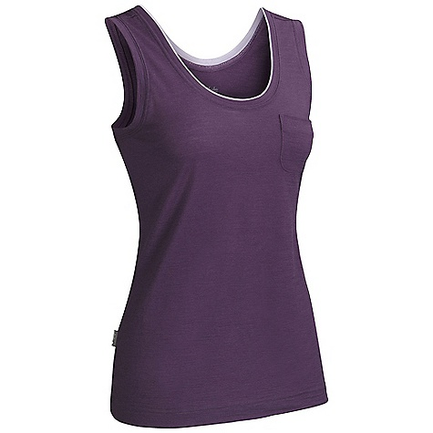 photo: Icebreaker Harmony Tank short sleeve performance top