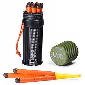 photo: UCO Titan Stormproof Match Kit fire starter