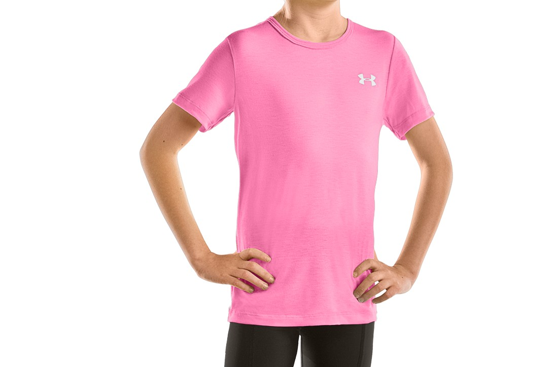 photo: Under Armour Girls' Tech Shortsleeve T short sleeve performance top