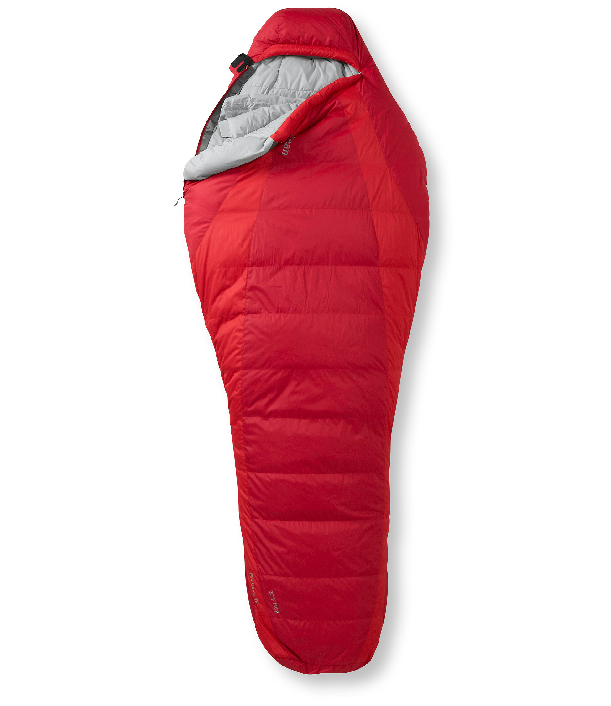 photo: L.L.Bean Goose Down Sleeping Bag, Mummy -20° cold weather down sleeping bag