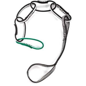 photo: Metolius Personal Anchor System - P.A.S. daisy chain/etrier