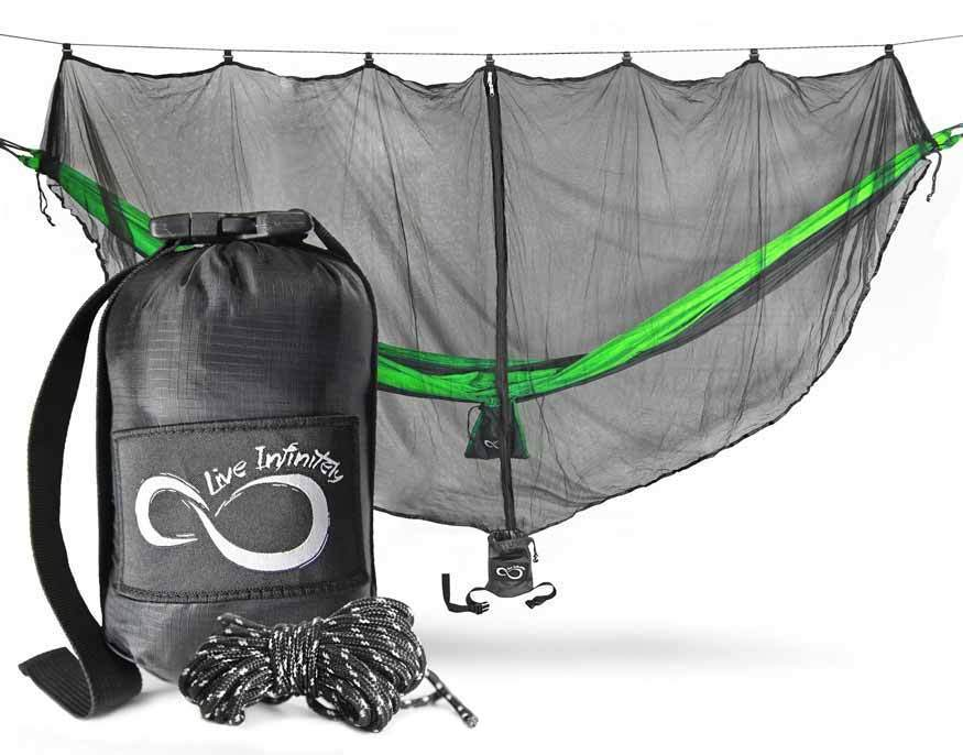 Live Infinitely Universal Camping Hammock Mosquito Net