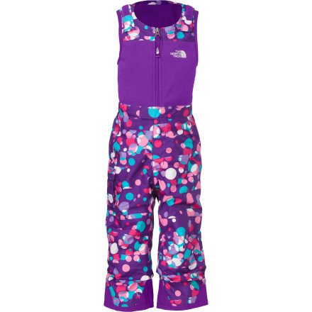 photo: The North Face Girls' Insulated Snowdrift Bib snowsport pant