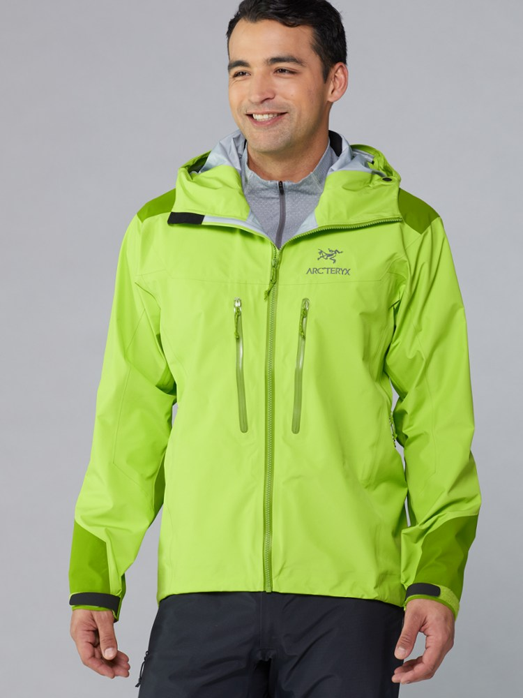 photo: Arc'teryx Men's Alpha AR Jacket waterproof jacket