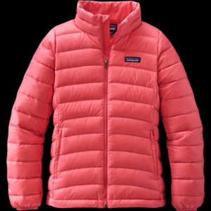 photo: Patagonia Girls' Down Sweater down insulated jacket