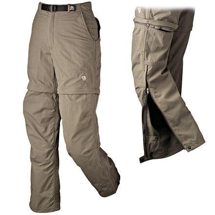 photo: Mountain Hardwear Women's Convertible Pack Pant hiking pant
