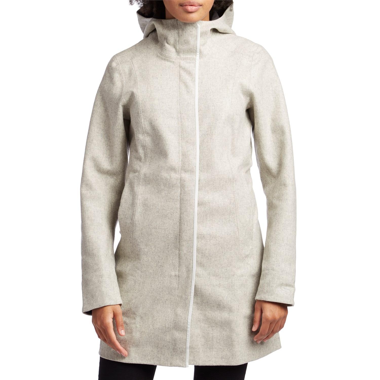 photo: Arc'teryx Embra Coat wool jacket