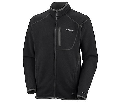 photo: Columbia Men's Altitude Aspect Full Zip fleece jacket