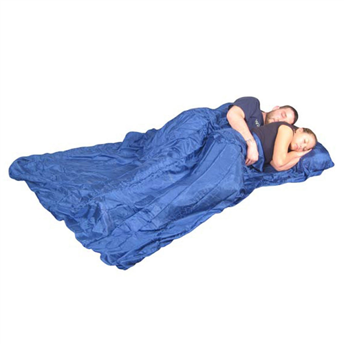 photo: Grand Trunk Silk Sleep Sack Double sleeping bag liner