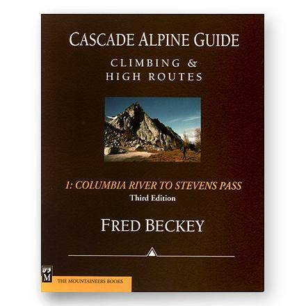 photo: The Mountaineers Books Cascade Alpine Guide: Climbing and High Routes Vol 1 - Columbia River to Stevens Pass us pacific states guidebook