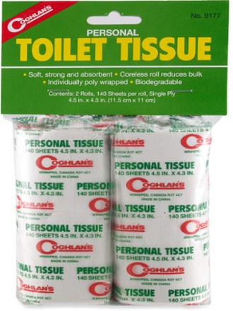 photo: Coghlan's Toilet Paper hygiene supply/device